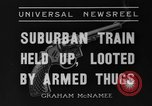 Image of suburban train Nutley New Jersey USA, 1936, second 6 stock footage video 65675042782