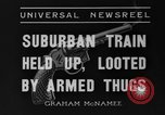Image of suburban train Nutley New Jersey USA, 1936, second 9 stock footage video 65675042782