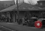 Image of suburban train Nutley New Jersey USA, 1936, second 12 stock footage video 65675042782