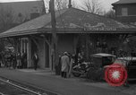Image of suburban train Nutley New Jersey USA, 1936, second 13 stock footage video 65675042782