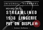 Image of models Miami Florida USA, 1938, second 2 stock footage video 65675042789