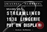 Image of models Miami Florida USA, 1938, second 7 stock footage video 65675042789