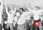 Image of Notre Dame football team South Bend Indiana USA, 1938, second 17 stock footage video 65675042790