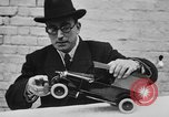 Image of life saving car bumper invention London England United Kingdom, 1930, second 17 stock footage video 65675042803
