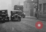Image of life saving car bumper invention London England United Kingdom, 1930, second 30 stock footage video 65675042803