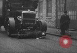 Image of life saving car bumper invention London England United Kingdom, 1930, second 38 stock footage video 65675042803