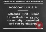 Image of gypsy children Moscow Russia Soviet Union, 1930, second 2 stock footage video 65675042805