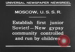 Image of gypsy children Moscow Russia Soviet Union, 1930, second 5 stock footage video 65675042805
