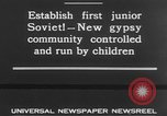 Image of gypsy children Moscow Russia Soviet Union, 1930, second 7 stock footage video 65675042805