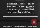 Image of gypsy children Moscow Russia Soviet Union, 1930, second 8 stock footage video 65675042805