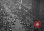 Image of building on fire Chicago Illinois USA, 1930, second 9 stock footage video 65675042807