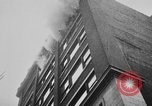 Image of building on fire Chicago Illinois USA, 1930, second 24 stock footage video 65675042807