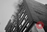 Image of building on fire Chicago Illinois USA, 1930, second 25 stock footage video 65675042807
