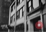 Image of building on fire Chicago Illinois USA, 1930, second 34 stock footage video 65675042807