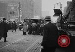 Image of building on fire Chicago Illinois USA, 1930, second 37 stock footage video 65675042807