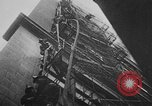 Image of building on fire Chicago Illinois USA, 1930, second 39 stock footage video 65675042807