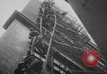 Image of building on fire Chicago Illinois USA, 1930, second 41 stock footage video 65675042807