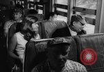 Image of Steam locomotive train trip Quebec Canada, 1962, second 22 stock footage video 65675042813