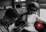 Image of Steam locomotive train trip Quebec Canada, 1962, second 28 stock footage video 65675042813