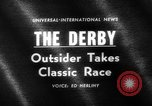 Image of Grand National horse race Liverpool England United Kingdom, 1963, second 4 stock footage video 65675042828