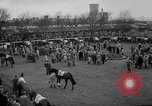 Image of Grand National horse race Liverpool England United Kingdom, 1963, second 6 stock footage video 65675042828
