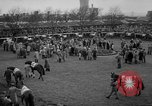 Image of Grand National horse race Liverpool England United Kingdom, 1963, second 8 stock footage video 65675042828