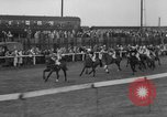 Image of Grand National horse race Liverpool England United Kingdom, 1963, second 50 stock footage video 65675042828