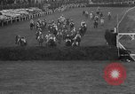 Image of Grand National horse race Liverpool England United Kingdom, 1963, second 55 stock footage video 65675042828