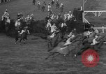 Image of Grand National horse race Liverpool England United Kingdom, 1963, second 60 stock footage video 65675042828
