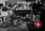 Image of flea market New York United States USA, 1963, second 17 stock footage video 65675042834