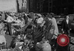Image of flea market New York United States USA, 1963, second 24 stock footage video 65675042834