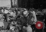 Image of flea market New York United States USA, 1963, second 25 stock footage video 65675042834