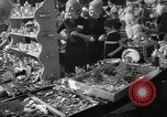 Image of flea market New York United States USA, 1963, second 34 stock footage video 65675042834