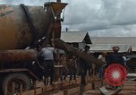 Image of mixing cement Thailand, 1966, second 19 stock footage video 65675042840