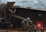 Image of mixing cement Thailand, 1966, second 20 stock footage video 65675042840