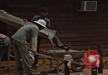 Image of mixing cement Thailand, 1966, second 33 stock footage video 65675042840