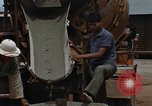 Image of mixing cement Thailand, 1966, second 59 stock footage video 65675042840