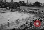 Image of swimming meet Los Angeles California USA, 1966, second 9 stock footage video 65675042881