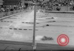 Image of swimming meet Los Angeles California USA, 1966, second 15 stock footage video 65675042881