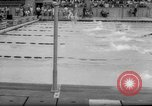 Image of swimming meet Los Angeles California USA, 1966, second 17 stock footage video 65675042881