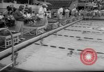 Image of swimming meet Los Angeles California USA, 1966, second 25 stock footage video 65675042881