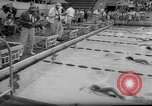 Image of swimming meet Los Angeles California USA, 1966, second 28 stock footage video 65675042881