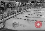 Image of swimming meet Los Angeles California USA, 1966, second 29 stock footage video 65675042881