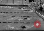 Image of swimming meet Los Angeles California USA, 1966, second 38 stock footage video 65675042881