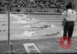 Image of swimming meet Los Angeles California USA, 1966, second 58 stock footage video 65675042881