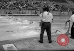 Image of swimming meet Los Angeles California USA, 1966, second 59 stock footage video 65675042881