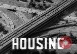 Image of post war housing in America United States USA, 1946, second 31 stock footage video 65675042889