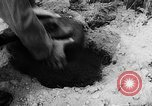 Image of mechanized mine layer Virginia United States USA, 1957, second 10 stock footage video 65675042903