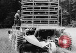 Image of mechanized mine layer Virginia United States USA, 1957, second 44 stock footage video 65675042903