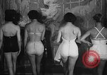 Image of fashion show New York United states USA, 1957, second 10 stock footage video 65675042904